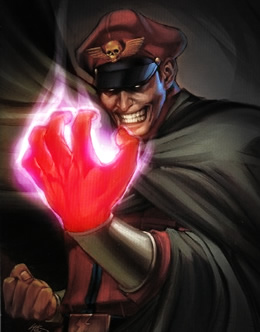 M. Bison Street Fighter Awesome
