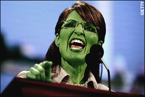 Sarah Palin, Wicked Witch of the Northwest